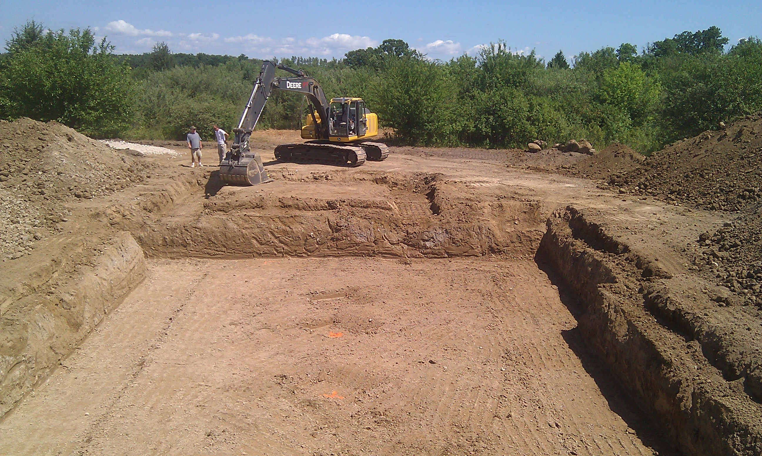 newport builders basement excavation